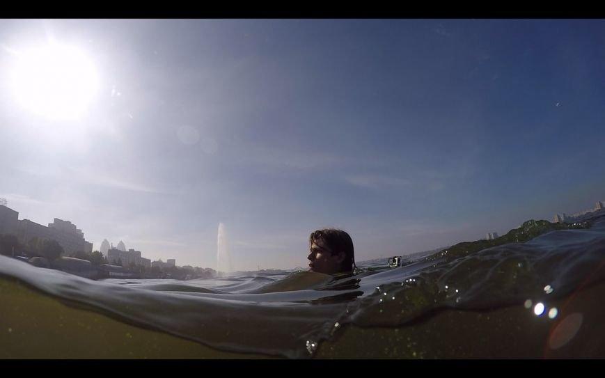 Парень переплыл с левого на правый берег Днепра (ФОТО), фото-3