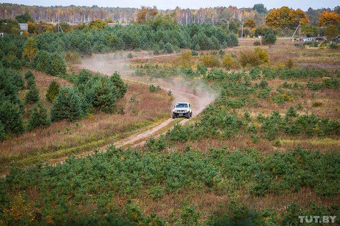 """Через леса и кукурузные поля. Под Гродно прошел этап ралли-рейда Баха """"Западный рубеж"""", фото-24"""