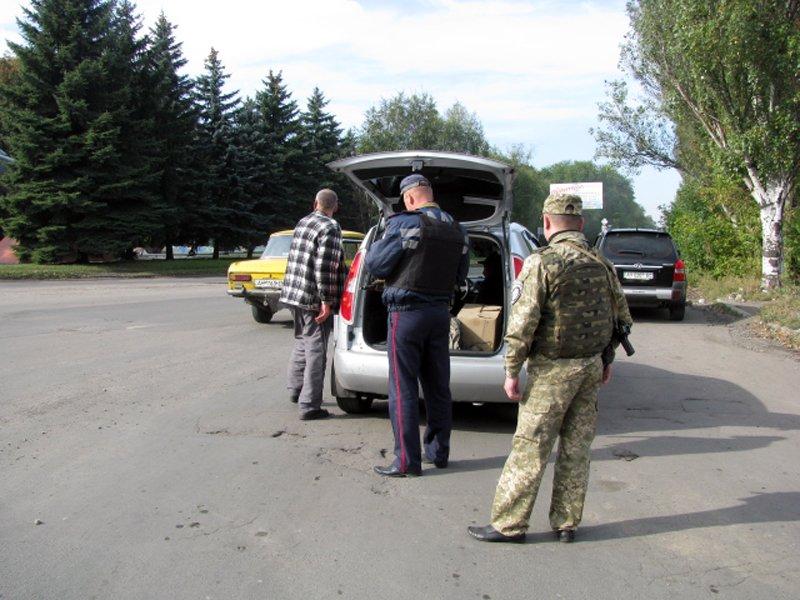 Добропольская полиция провела отработки в городе Белицкое, фото-1