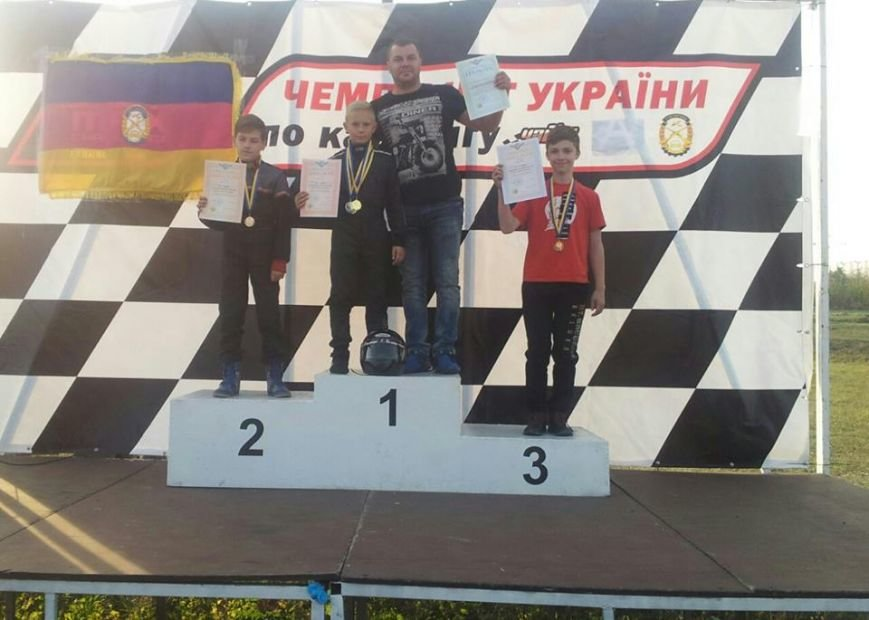Кременчугский юный картингист стал бронзовым призером Чемпионатов Украины по картингу, фото-1