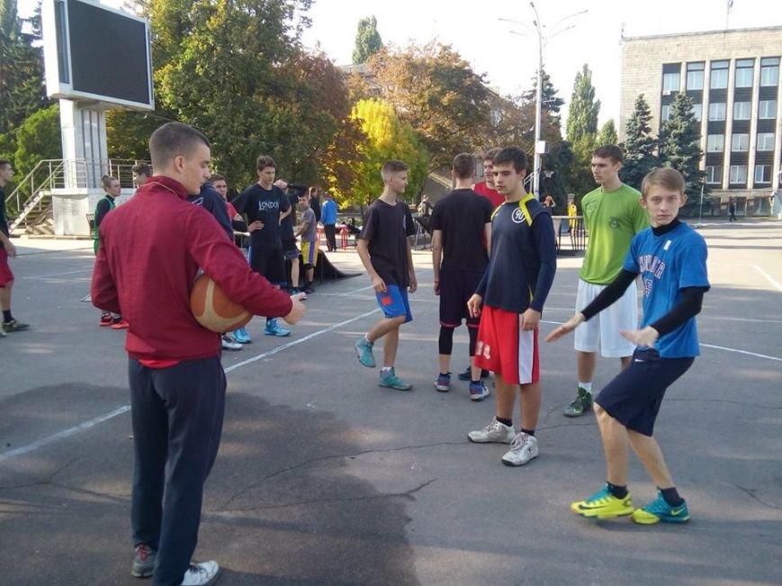Как кременчужане на площади Независимости в стритбол играли (ФОТО), фото-6