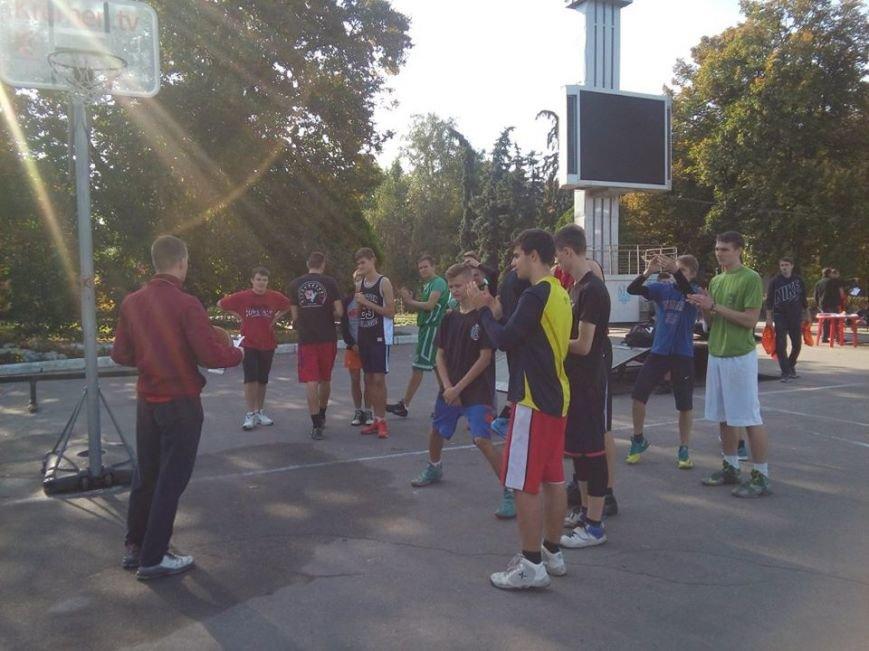 Как кременчужане на площади Независимости в стритбол играли (ФОТО), фото-9