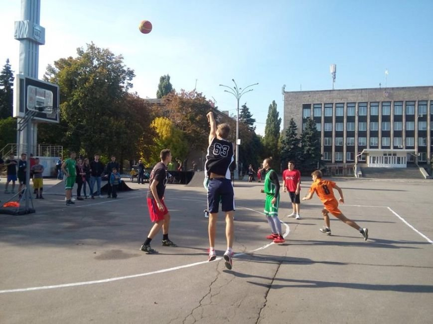 Как кременчужане на площади Независимости в стритбол играли (ФОТО), фото-2