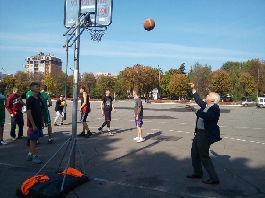 Как кременчужане на площади Независимости в стритбол играли (ФОТО), фото-5