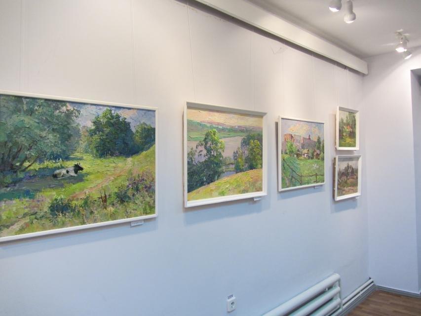 В одной из галерей Кременчуга можно посмотреть на «масляные» виды города, фото-6