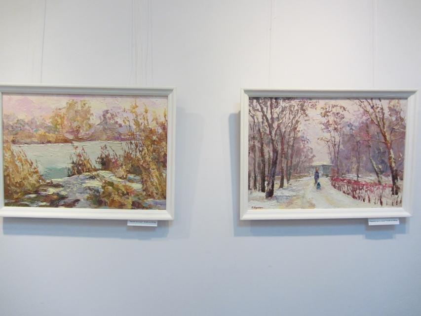 В одной из галерей Кременчуга можно посмотреть на «масляные» виды города, фото-7