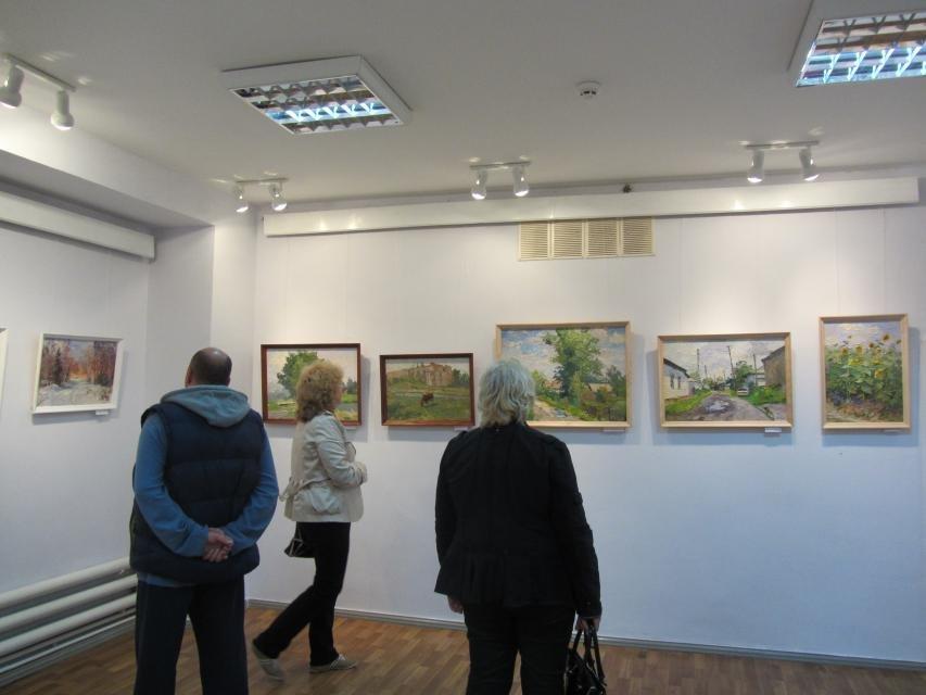 В одной из галерей Кременчуга можно посмотреть на «масляные» виды города, фото-5