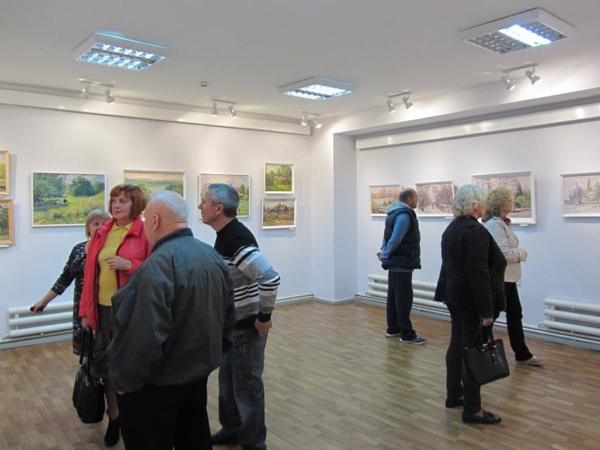 В одной из галерей Кременчуга можно посмотреть на «масляные» виды города, фото-4