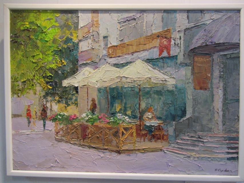 В одной из галерей Кременчуга можно посмотреть на «масляные» виды города, фото-2