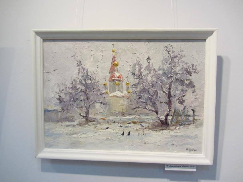 В одной из галерей Кременчуга можно посмотреть на «масляные» виды города, фото-8