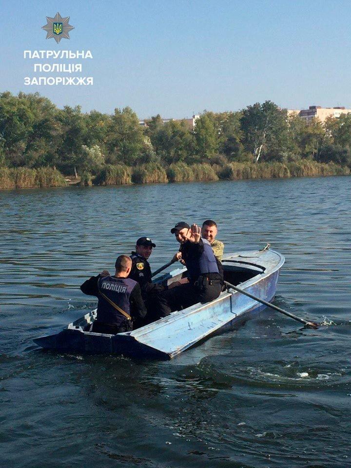 В Запорожье мужчина на лодке вывез жену на остров и, бросив ее, уплыл, фото-2
