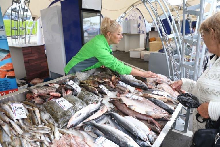 Южносахалинцы смогут купить свежую рыбу в шатрах, фото-1