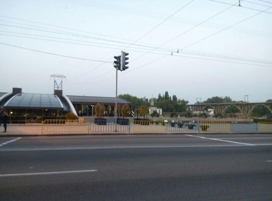 На набережной Днепра закончили установку ограждения (ФОТО), фото-1