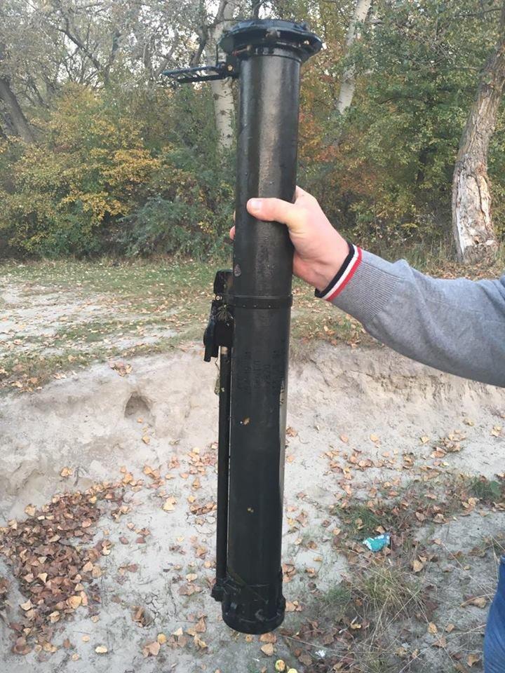 В Кременчугском районе рыбаки нашли гранатомёт на дне реки Псёл (ФОТО), фото-3