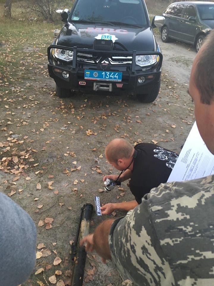 В Кременчугском районе рыбаки нашли гранатомёт на дне реки Псёл (ФОТО), фото-1