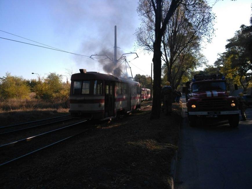 В Запорожье загорелся трамвай, - ФОТО, фото-5