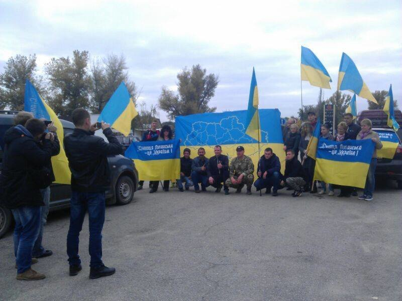 Северодончане митинговали против отвода ВСУ из Станицы Луганской (фото), фото-3