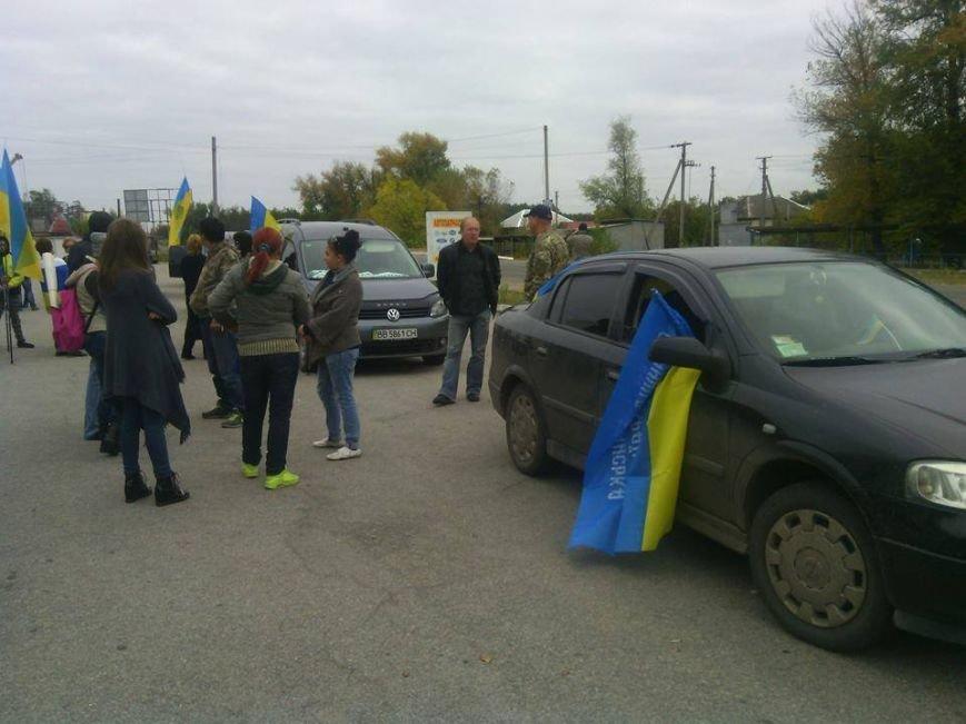 Северодончане митинговали против отвода ВСУ из Станицы Луганской (фото), фото-2