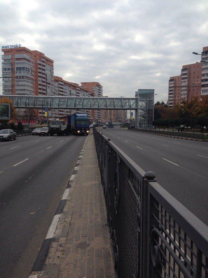 На проспекте Гагарина столкнулись два грузовика (ФОТО), фото-1