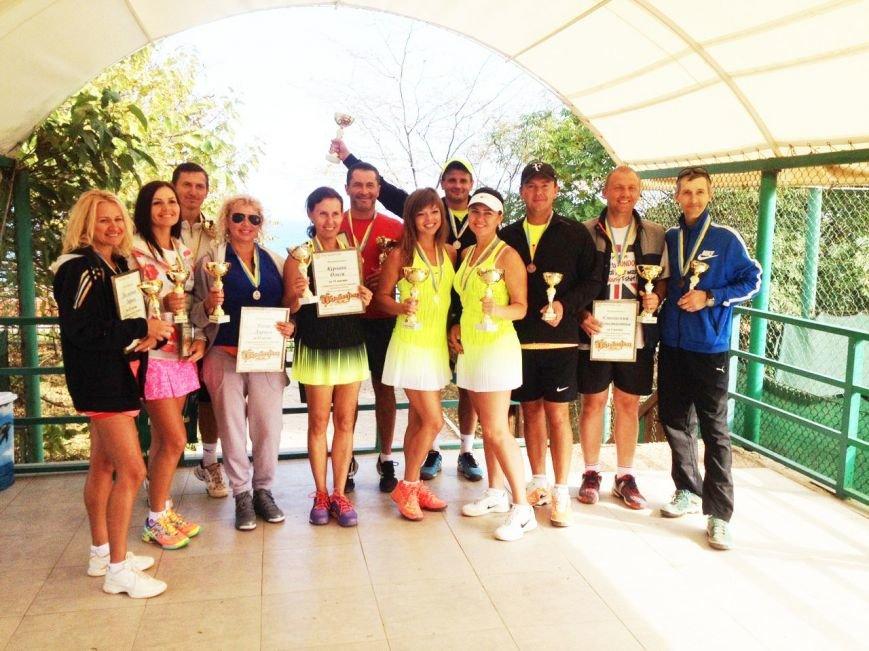 «Oktoberfest» завершил летний теннисный сезон (фото), фото-1