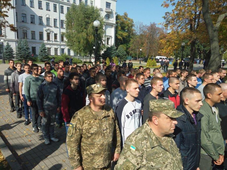 Юноши Днепра ушли в армию: как это было (ФОТО), фото-11