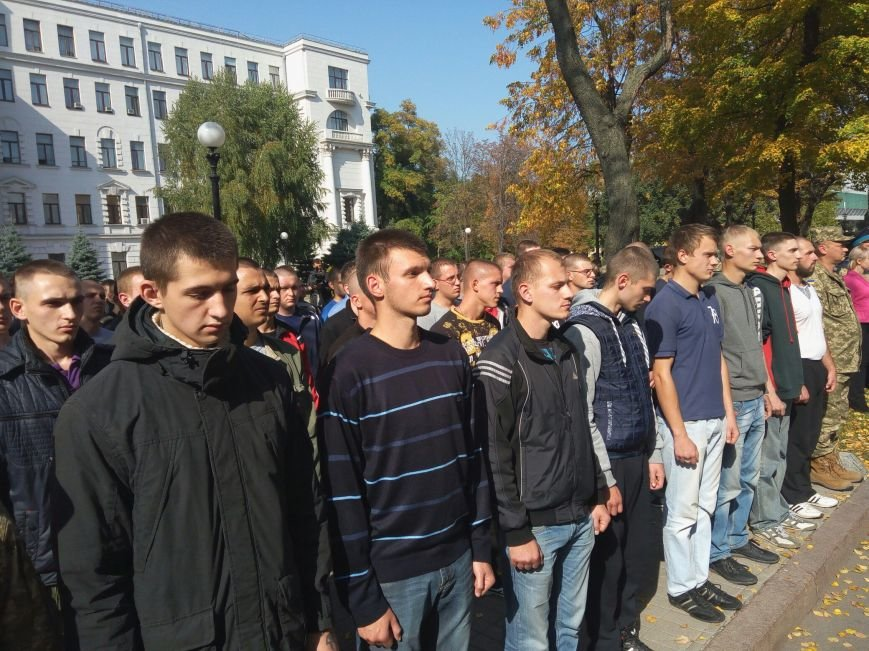 Юноши Днепра ушли в армию: как это было (ФОТО), фото-1