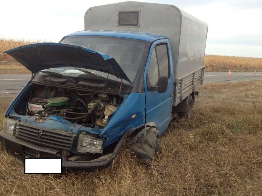 За Кропивницким грузовик протаранил полицейский автомобиль (ФОТО), фото-3