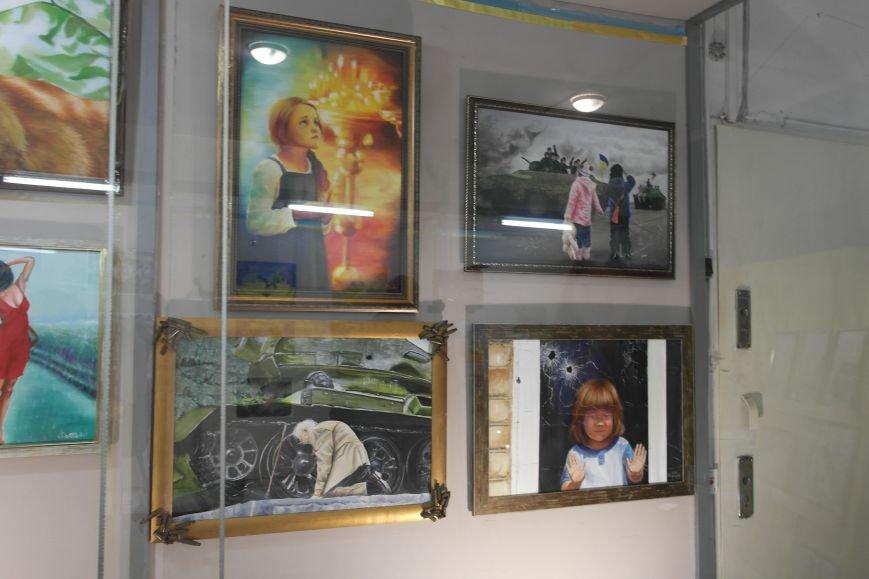 В Покровске (Красноармейске) стартовала культурно-художественная акция «Искусство в зоне АТО»:, фото-7