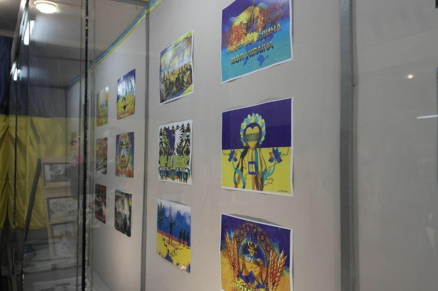 В Покровске (Красноармейске) стартовала культурно-художественная акция «Искусство в зоне АТО»:, фото-23