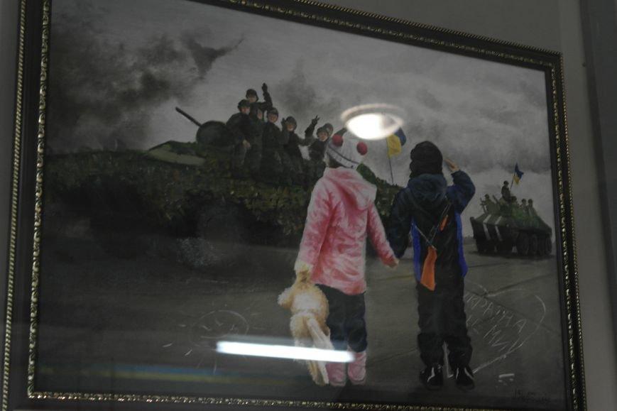 В Покровске (Красноармейске) стартовала культурно-художественная акция «Искусство в зоне АТО»:, фото-14