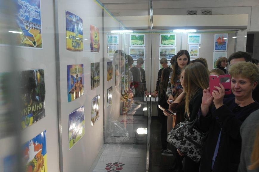 В Покровске (Красноармейске) стартовала культурно-художественная акция «Искусство в зоне АТО»:, фото-31