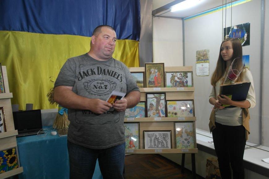 В Покровске (Красноармейске) стартовала культурно-художественная акция «Искусство в зоне АТО»:, фото-21
