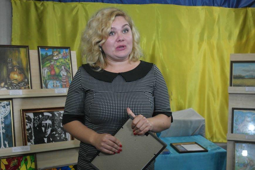 В Покровске (Красноармейске) стартовала культурно-художественная акция «Искусство в зоне АТО»:, фото-16
