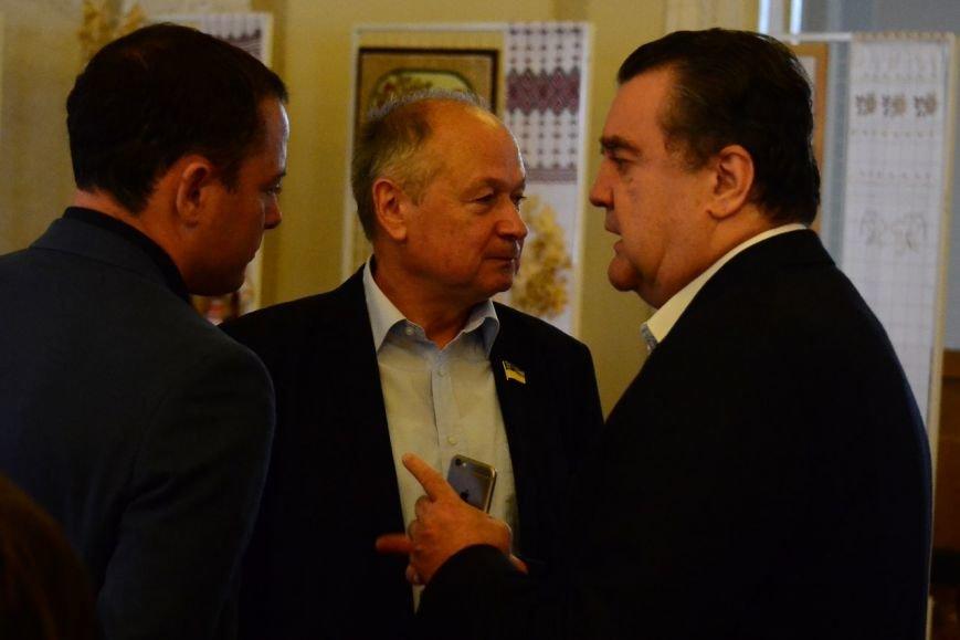 В Верховной Раде Украины открылась выставка о Каменском, фото-2
