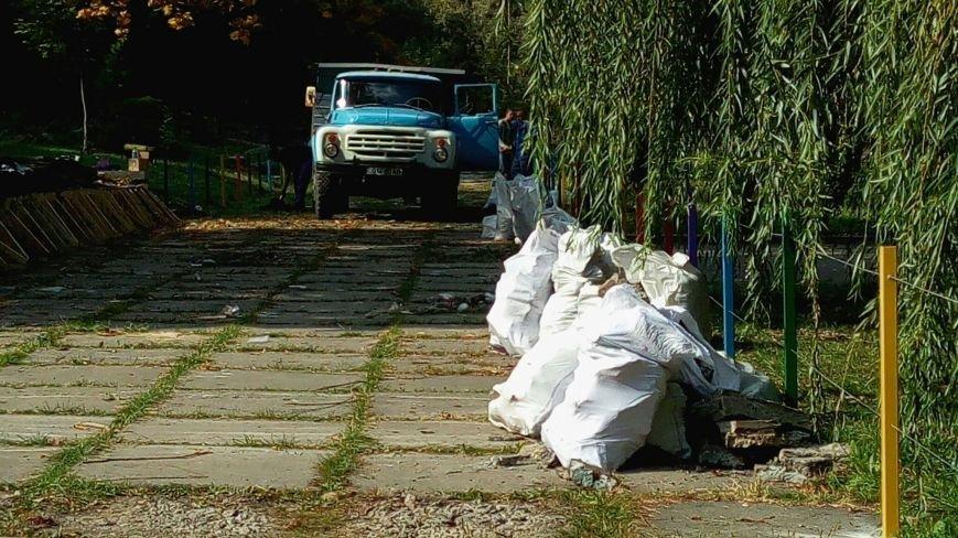 В парках Днепра наводят порядки (ФОТО), фото-6
