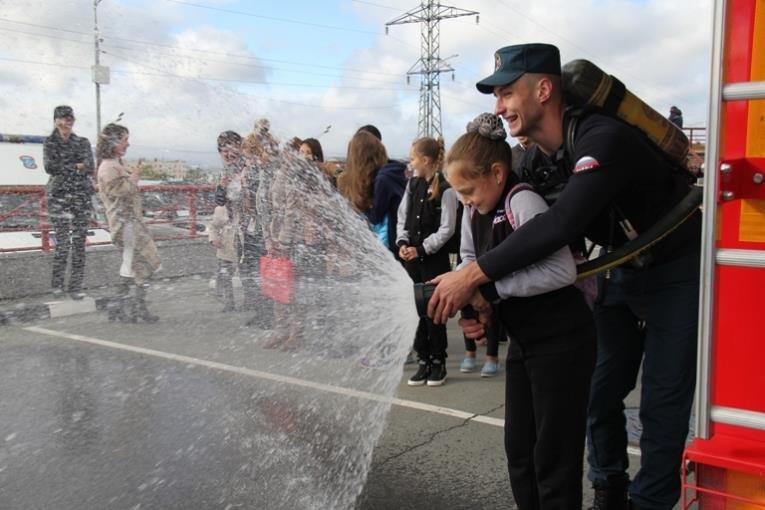 Открытый урок по основам безопасности прошел в Южно-Сахалинске, фото-2
