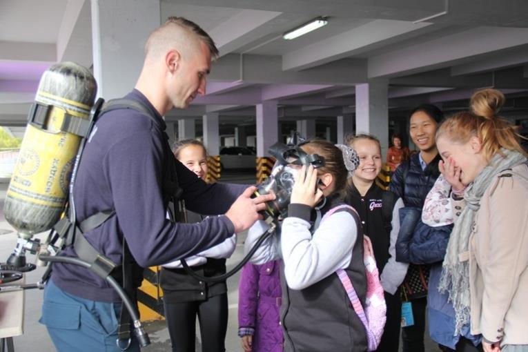 Открытый урок по основам безопасности прошел в Южно-Сахалинске, фото-1