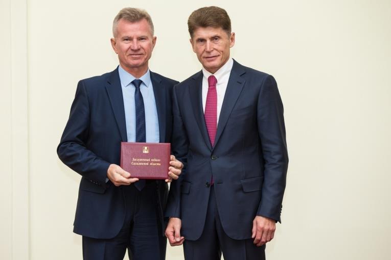 Лучшие педагоги Сахалинской области получили награды, фото-1