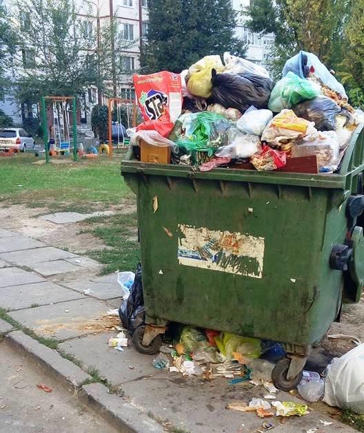 Херсон уверенно становится мусорной столицей Украины, фото-2