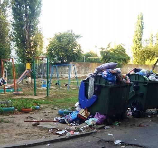 Херсон уверенно становится мусорной столицей Украины, фото-1