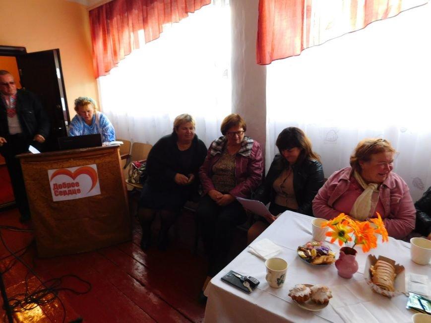 В Шевченковском сельском клубе преобразилась сцена, фото-1