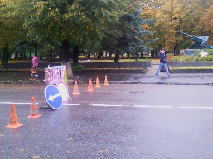 Центральна частина Новограда-Волинського перекрита: ведуться ремонтні роботи (ФОТО), фото-4