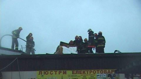 """У Львові на ринку """"Торпедо"""" горів павільйон (ФОТО), фото-1"""