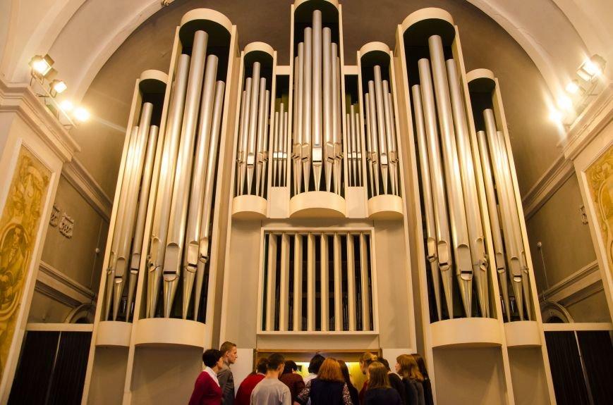 Студенты из Донбасса приняли участие в необычном мастер-классе в органном зале Днепра (ФОТО), фото-3