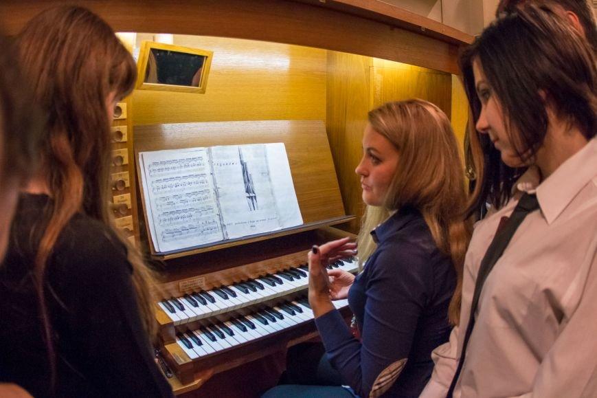 Студенты из Донбасса приняли участие в необычном мастер-классе в органном зале Днепра (ФОТО), фото-10