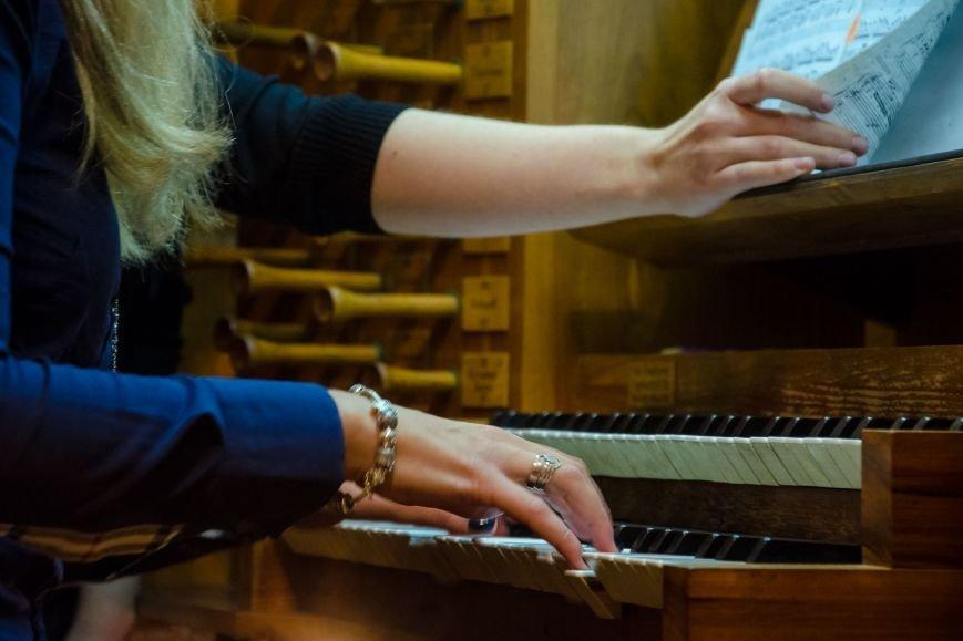 Студенты из Донбасса приняли участие в необычном мастер-классе в органном зале Днепра (ФОТО), фото-6