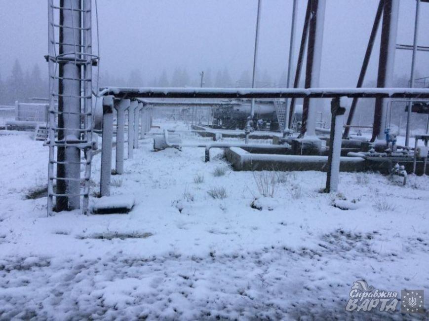 Сьогодні на Львівщині випав перший сніг (ФОТО), фото-4