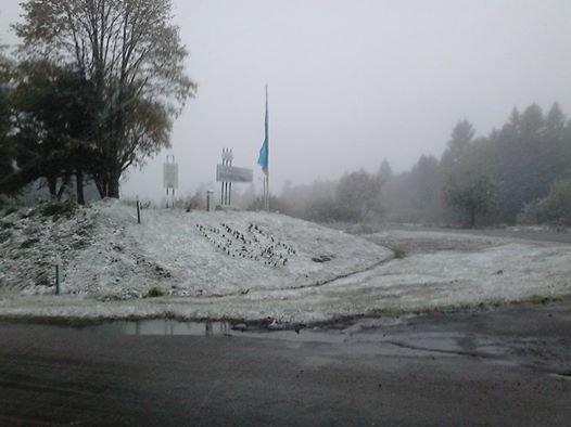 Сьогодні на Львівщині випав перший сніг (ФОТО), фото-1