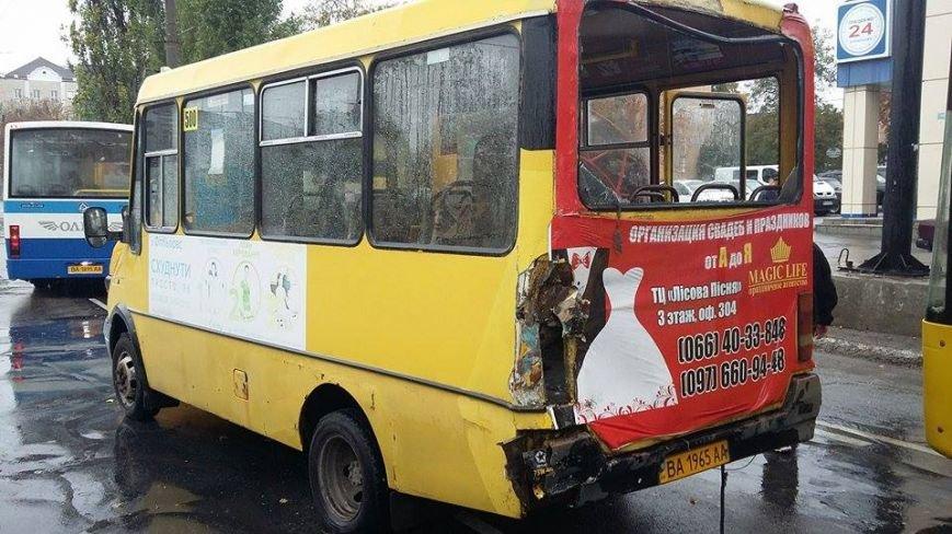 ДТП в Кропивницком: столкнулись две маршрутки и рейсовый автобус (ФОТО), фото-6