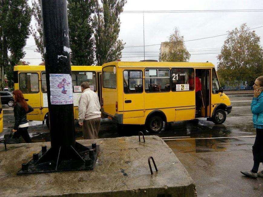 ДТП в Кропивницком: столкнулись две маршрутки и рейсовый автобус (ФОТО), фото-3